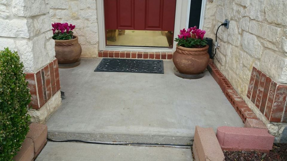 Front porch - Before